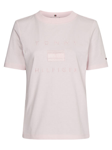 Regular Tonal Tee, Light PInk