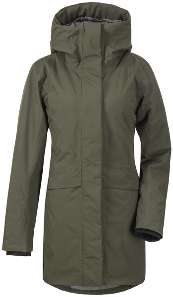 Cajsa Women's Parka, Forest Green